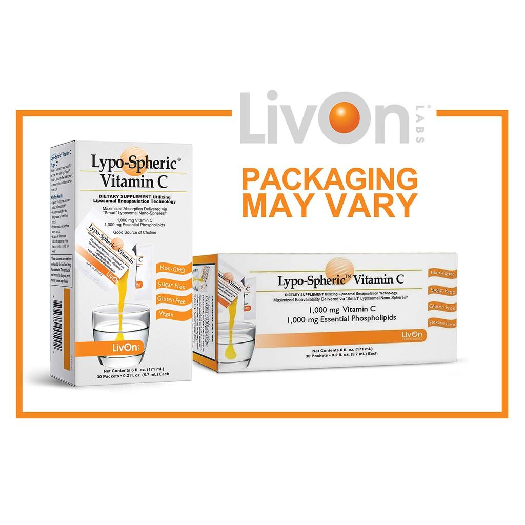 Lypo Spheric Vitamin C - Tăng cường miễn dịch bằng Vitamin C xịn nhất quả đất!