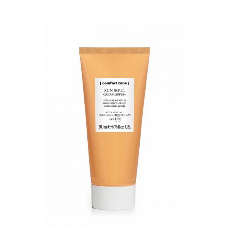 Kem Chống Nắng Chống Lão Hoá Cho Mặt Và Cơ Thể Comfort Zone Sun Soul Face & Body Cream Spf 50+