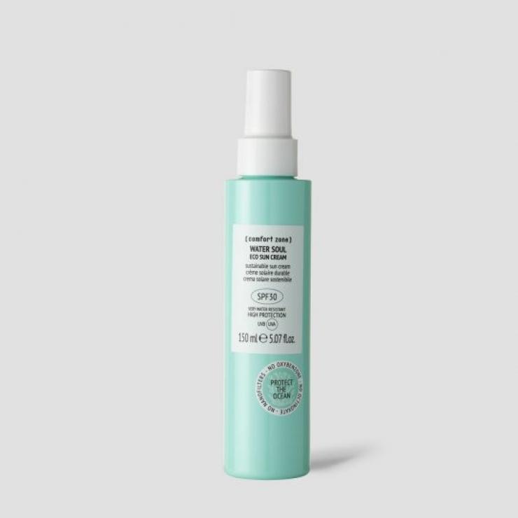 Kem Chống Nắng Bền Vững Sinh Học Dành Cho Mặt Và Cơ Thể Comfort Zone Water Soul Eco Sun Cream Spf30
