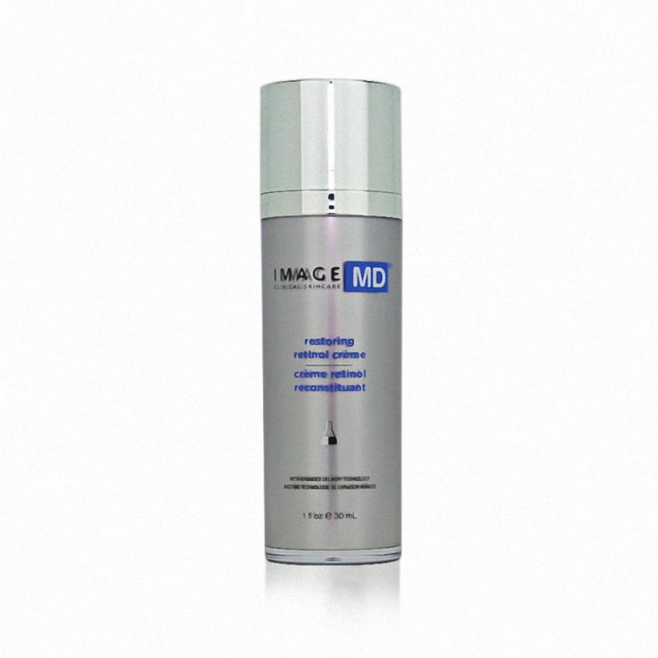 Kem Retinol Công Nghệ Adt Trẻ Hóa, Mờ Thâm Nám- Image Md Restoring Retinol Creme With Adt Technology