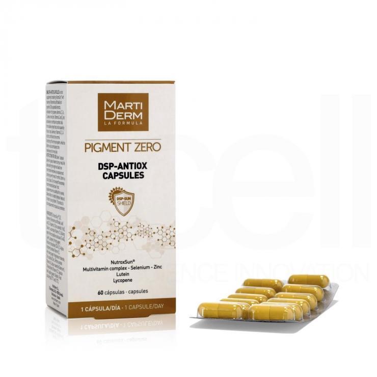 Viên Uống Chống Nắng, Làm Sáng Da - MartiDerm Pigment Zero DSP Antiox Capsules