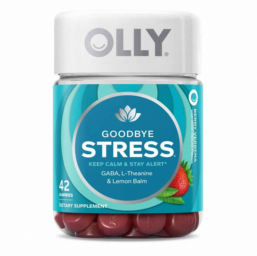 Kẹo Dẻo Giảm Stress Olly Goodbye Stress