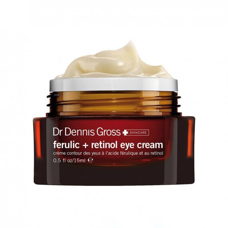 Kem Mắt Làm Giảm Vết Thâm, Vết Chân Chim & Bọng Mắt Dr Dennis Gross Ferulic + Retinol Eye Cream