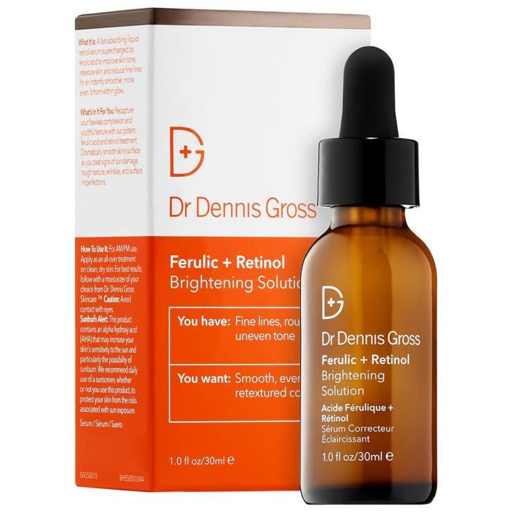 Serum Làm Sáng Da, Mờ Thâm Dr Dennis Gross Ferulic Acid + Retinol Brightening Solution