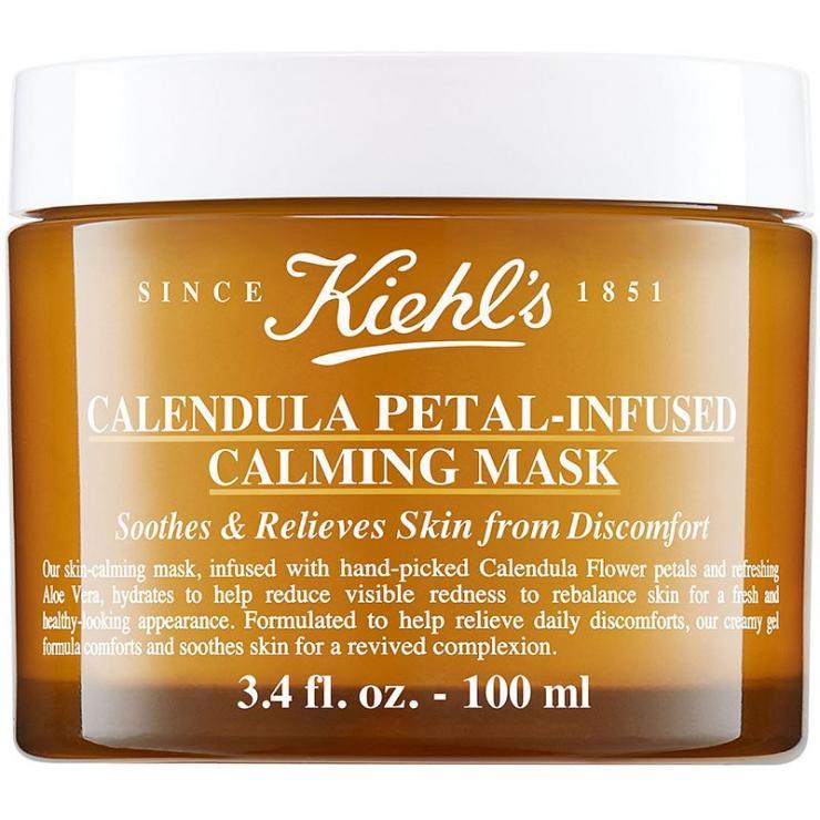 Mặt Nạ Hoa Cúc Kiehl's Calendula Petal-Infused Calming Mask Dưỡng Ẩm Dịu Nhẹ 100ML