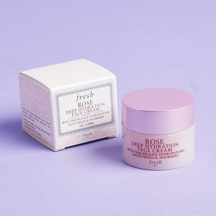 Kem Dưỡng Ẩm Chuyên Sâu Suốt 24h Fresh Rose Deep Hydration Face Cream