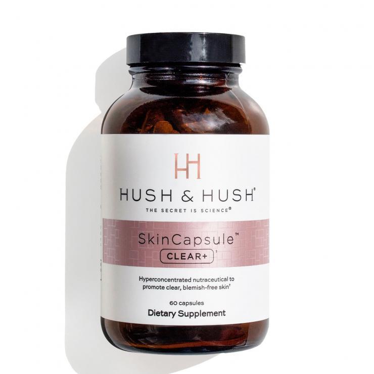 Viên Uống Giảm Mụn Hush & Hush Skin Capsule Clear+