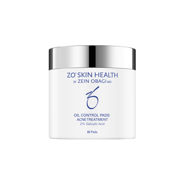 Miếng Tẩy Tế Bào Chết ZO Skin Health Oil Control Pads Acne Treatment Trị Mụn, Kiểm Soát Dầu ( Hộp 60 Miếng)