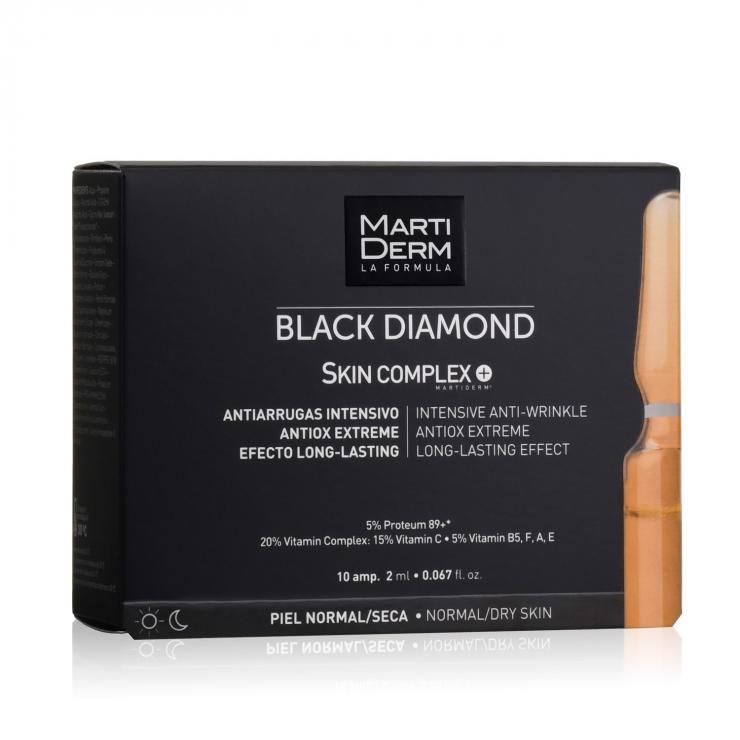 Ampoule Chống Oxy Hoá, Trẻ Hóa & Làm Sáng Da - MartiDerm Black Diamond Skin Complex+