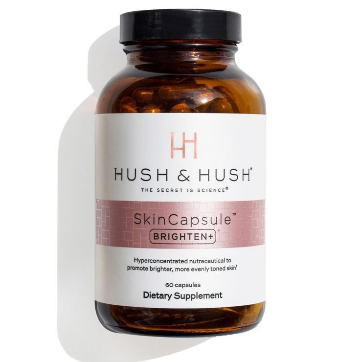 Viên Uống Sáng Da, Mờ Nám Hush & Hush Skin Capsule Brighten+