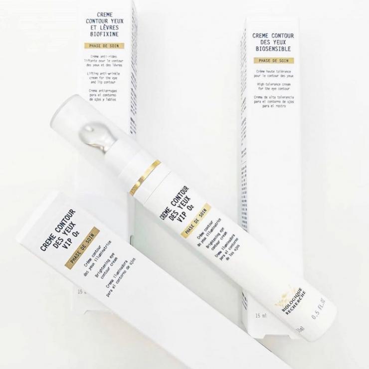 Kem Đặc Trị Dưỡng Ẩm, Làm Sáng Và Giảm Quầng Thâm Mắt Biologique Recherche Crème Contour Des Yeux VIP O2