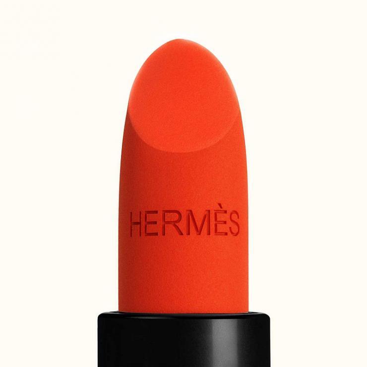 [Chính Hãng] Son Hermes Rouge Exotique Matte ( Cam Đỏ- 53) - Sắc Môi Gợi Cảm Thu Hút Mọi Ánh Nhìn