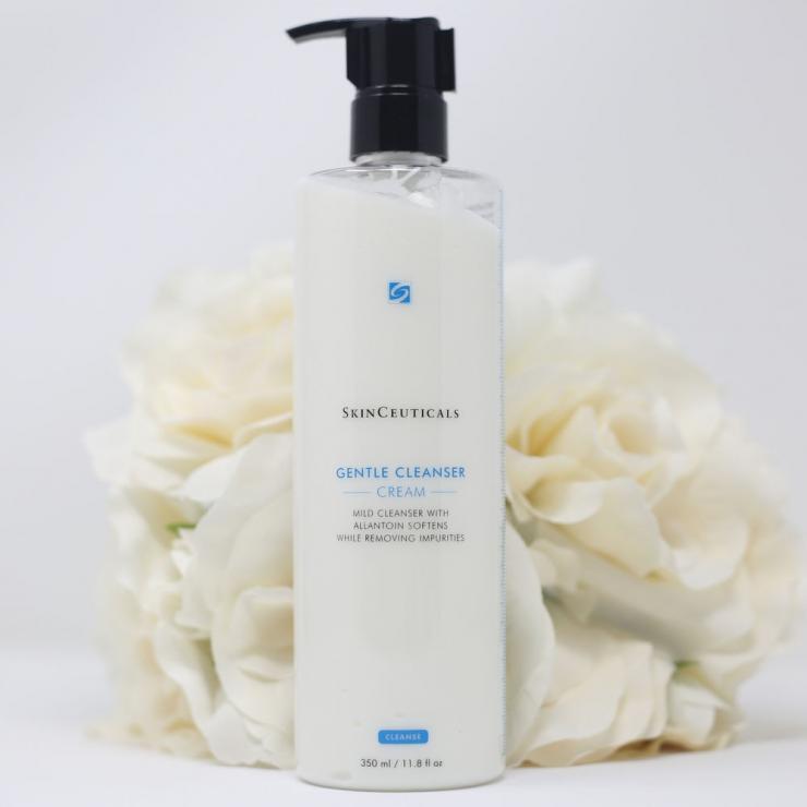 [Bigsize 350ml] Sữa Rửa Mặt Cấp Ẩm Và Làm Dịu Da SkinCeuticals Gentle Cleanser Cream