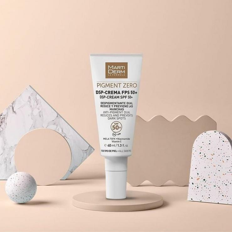 Kem Ngày Làm Sáng Da, Mờ Sắc Tố, Duy Trì Sau Hydroquinone - MartiDerm Pigment Zero DSP FPS50+ Cream
