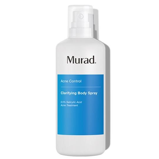 Giảm Mụn Cơ Thể Và Vi Khuẩn Với Công Nghệ Xịt Tia 360 Độ Murad Clarifying Body Spray