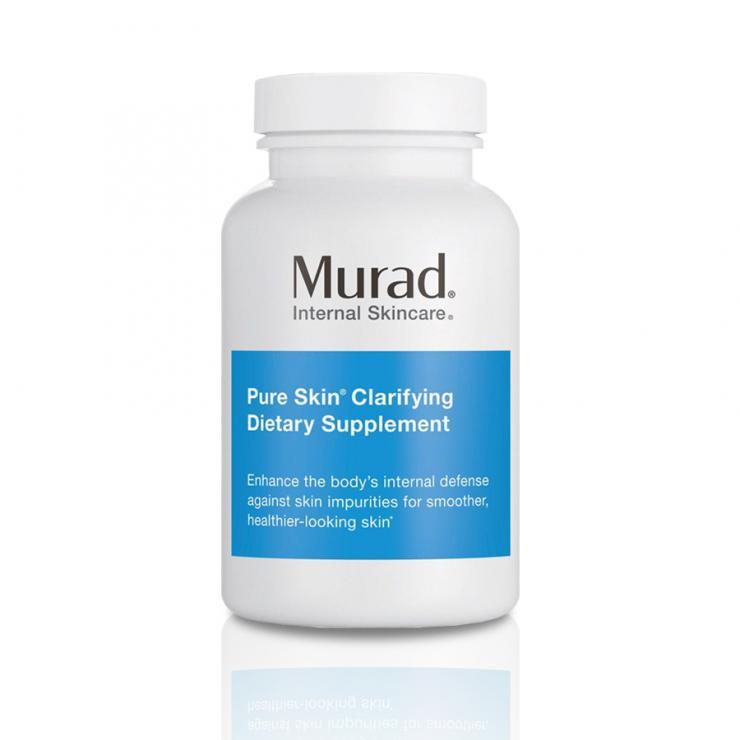 Viên Uống Giảm Mụn Đến 55% Trong 6 Tuần Murad Pure Skin Clarifying Dietary Supplement