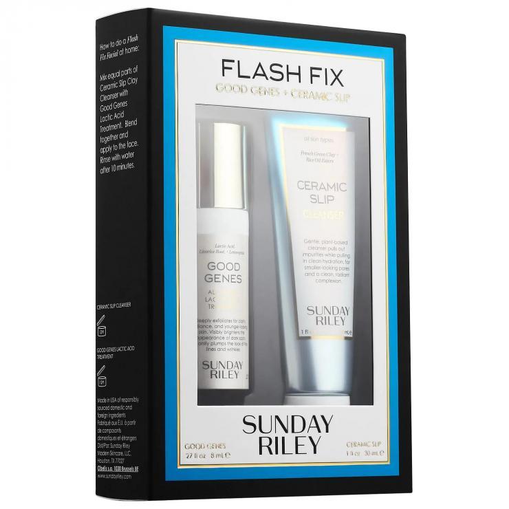[Sunday Riley Chính Hãng] Set Dưỡng Da Flash Fix Kit Sunday Riley (Good Genes - 8ML)